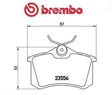 P68024 Kit pastiglie freno, Freno a disco (MARCA-BREMBO)