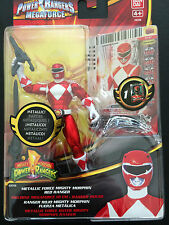 Power Rangers Mighty Morphin Ranger Megaforce Rojo Metálico