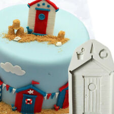 3D Wood House Silicone Fondant Mould Cake Decorating Chocolate Cake Mold Baking