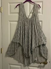 FREE PEOPLE SEXY OPEN BACK DRESS OR TUNIC TOP NEW XL/1X