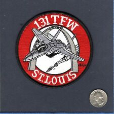 131st FW F-15 EAGLE AIM-9 MO ANG USAF McDonnell Fighter Squadron Patch