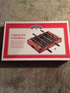 HOLIDAY TIME Tabletop Foosball Brand New In Box Fun Game Christmas 🎄