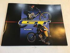 NOS VINTAGE COLLECTIBLE 1999 TEAM GT Y2K BMX / FREESTYLE CATALOG MAGAZINE
