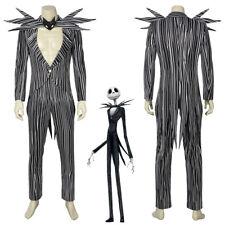The Nightmare Before Christmas Jack Skellington Cosplay Costume Handmade
