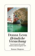 Heimliche Versuchung von Donna Leon (2018, Gebundene Ausgabe) KEIN PORTO!