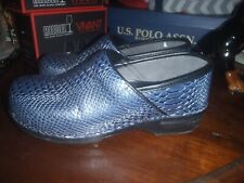 "womens clogs, Dansko Pro shoes, ""Snakeskin"", size 41 (9/10 US) comfort nurse"