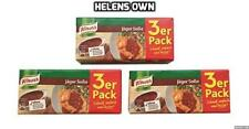 KNORR JÄGER SAUCE SOßE 3x 3 Packs. VALUE Pack. 9x 250ml, Great Taste/Super Easy