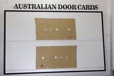 Ford Falcon XR Door Cards. Suit Ute, Van, Sedan & Wagon Front Blank Trim Panels
