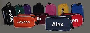 Personalised Shoe bag Boot Bag Football Rugby Bowling Sports - Custom Printed
