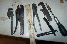 6 (LOT) MACHINISTS ? TOOL OLD TOOLS STEAM PUNK RAT ROD BBC  HEMI TULSA OKLA