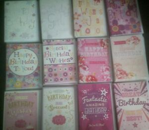 HAPPY BIRTHDAY CARD*WISHES*SPECIAL*JUST FOR YOU*FLOWERS*CHOOSE DESIGN*FEMALE*