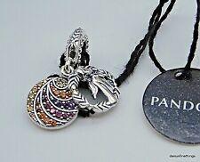NEW/TAGS AUTHENTIC PANDORA CHARM DISNEY FROZEN ANNA DANGLE #798457C01