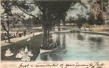 San Antonio,Texas,San Pedro Park,Used,Flag Cancellation,1906