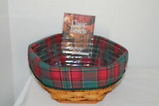 "New Listing2000 Longaberger 8"" Generation Basket, Fabric. Protector, Card"