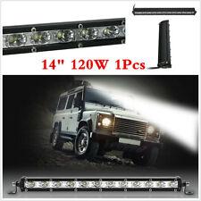 Waterproof 120W Spot LED Work Light Bar Car Truck Boat Driving Fog Lamp SUV 1x