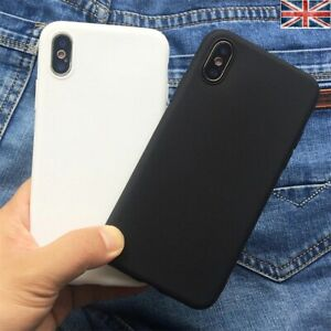 Case for iPhone 11 XS Max XR 8 7 6 tpu Soft Silicone Phone Cover
