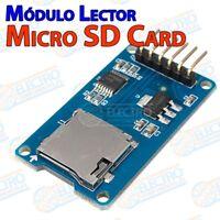Modulo Micro SD Card lector tarjeta Micro SD SDHC SPI - Arduino Electronica DIY