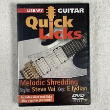 LickLibrary - QUICK LICKS - STEVE VAI Guitar Lessons DVD (Andy James)