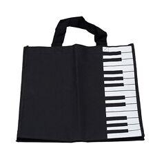 Piano Keys Music Handbag Tote Shopping Bag Gift YM