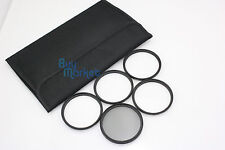 62mm UV + CPL + Star 4X 6X 8X camera filter set with filter case (Free Tracking)
