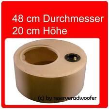 """Reserveradgehäuse für 30cm / 12"""" Woofer, Größe S mit 25 Liter Volumen"""