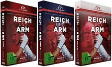 Reich und Arm - komplett - Staffel 1 + 2.1 + 2.2 (Buch 1+2) - Alle 3 DVD-Boxen