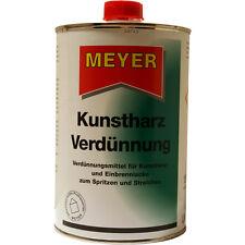 Kunstharzverdünnung, Verdünnung, Kunstharz Verdünner, KH Verdünnung, 1 Liter