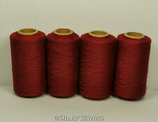 American Beauty #620 Polyester Serger & Quilting Thread 4 Tubes 1000 Yds. Ea