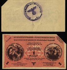 Russia Germany Ostland Wi in nord - 1 Punkt - 1943/1944, KR#35 canceled