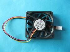 10 pcs Brushless DC Cooling Fan 5V 6010S 11 Blade 60x60x10mm 3pin Sleeve-bearing