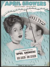 "ANN SOTHERN film song APRIL SHOWERS ""title song"" JACK CARSON Warner Bros. 1948"