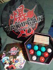 Bakugan Battle Brawlers comes W/Tin, 52 Cards, 9 Brawlers, Battle Mat.