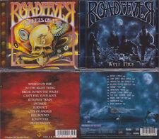 2 CDs, Roadfever - Wheels On Fire (2009) + Wolf Pack (2013) Hard Rock, Sinner