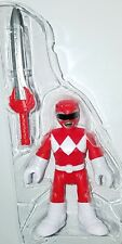 "Power Rangers RED RANGER 3"" Figure with Power Sword Fisher-Price Imaginext"