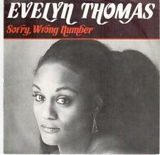 """<2546-20> 7"""" Single: Evelyn Thomas - Sorry, Wrong Number"""