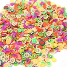 Styrofoam Foam Balls Fruit Slice For Slime Making Creative Art DIY Accessories