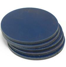 ".276"", 7mm THICK, HIGH DENSITY PLASTIC DISK PLATE 5-5/16"" DIAMETER CIRCLE FLOATS"
