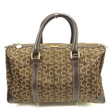 Auth Celine Boston bag C Macadam unisexused J 17665