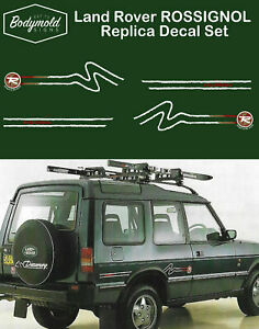 Land Rover Discovery ROSSIGNOL Replica decals/stickers