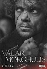 IL TRONO DI SPADE GAME OF THRONES MANIFESTO TYRION LANNISTER PETER DINKLAGE