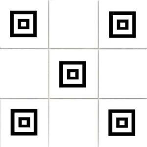 Squares 2 - Bathroom, Kitchen ,Tile, Home, Transfer Stickers, Chose Colour & Qty