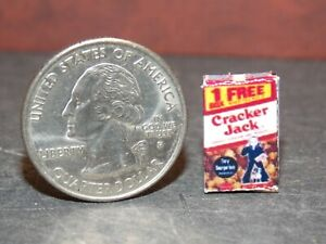 Dollhouse Miniature Cracker Jack Snack Food Box 1:12 scale B30 Dollys Gallery