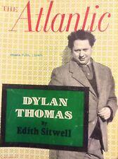 The Atlantic Magazine Dylan Thomas February 1954 010518nonrh
