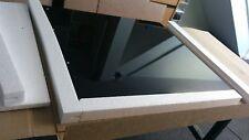 FACTORY SECOND. 6mm BLACK GLASS SPLASHBACK. 1100mm w X 750mm h