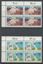 Germany Berlin 1982 ** Mi.664/65 Bl/4 Sport Volleyball Marathon [da238]