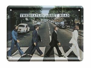 The Beatles ABBEY ROAD Metal Sign Steel Small Fridge Magnet (8cm x 11cm)