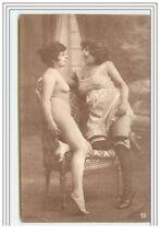 Deux Femmes nues sur un fauteuil