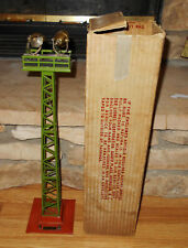 Lionel Standard Gauge #92 Floodlight Tower Exc.+ Condition With Box!