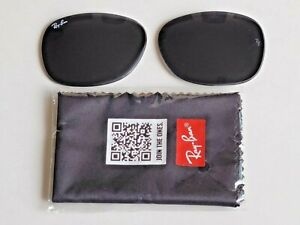Brand New RAY-BAN Gray Lens Replacements RB2132 New Wayfarer 55mm.