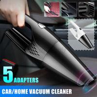 Wet/Dry 120W Car Vacuum Cleaner Hand Held Powerful Portable Home Pet Hair